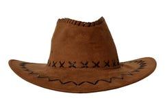 Brun cowboyhatt Arkivbild