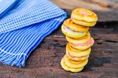 Brun crème de biscuits photographie stock libre de droits