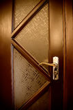 brun dörr Arkivbilder