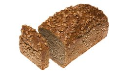 brun de pain Photographie stock libre de droits