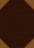 Brun dekorativ bakgrund Royaltyfri Fotografi