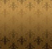 brun dekorativ modell Arkivbild