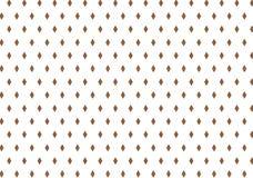 Brun design för bakgrund för diamantformmodell Royaltyfri Fotografi