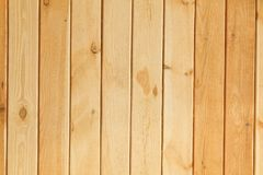 Brun en bois de planche Images libres de droits