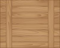Brun en bois de planche de vecteur Photo libre de droits