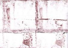 Brun färgrik bakgrund för washteckning Arkivbild