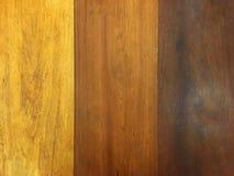 Brun färgskugga av träplankan Gammal tappningstil av trätabellen arkivbild