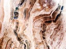 brun för juvelflod för marmor två linje mellersta ram Royaltyfria Bilder