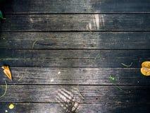 Brun foncé de passages couverts en bois Région, ou relié Images stock