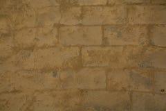 Brun forntida cementvägg Royaltyfri Bild