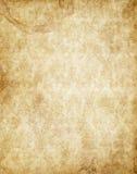 brun gammal paper yellow för parchmenttexturtappning Royaltyfri Bild