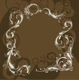 brun garnering stock illustrationer