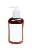 brun gel för flaska arkivfoto
