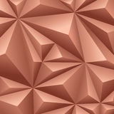 Brun geometrisk bakgrund. Royaltyfri Bild