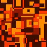 Brun geometrisk bakgrund Royaltyfria Foton
