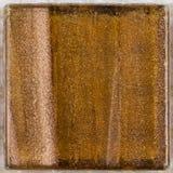 Brun glass smalt med band Royaltyfria Bilder