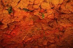 brun grön rost för bakgrund Arkivbilder