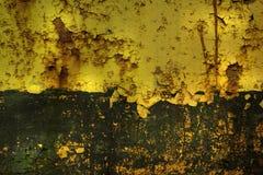 brun grön rost för bakgrund Royaltyfri Foto