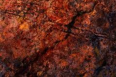 brun grön rost för bakgrund Arkivbild