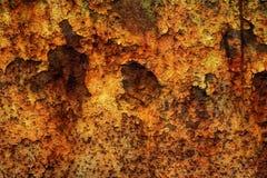brun grön rost för bakgrund Fotografering för Bildbyråer