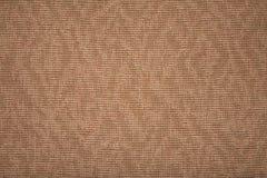 brun grov textiltextur arkivbild
