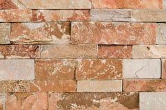 Brun Grunge, beige, apelsin, grå bakgrund för textur för tegelplattor för stenvägg Marmorerar den smutsiga naturliga bruna stenen royaltyfri fotografi