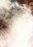 brun grunge för bakgrund Royaltyfri Foto
