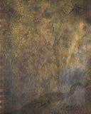 Brun grungeloppbakgrund Arkivfoto