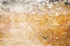 brun grungy vägg Royaltyfria Bilder