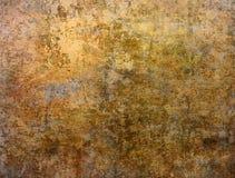 brun grungy vägg Arkivfoto