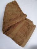 Brun handduk Royaltyfri Bild