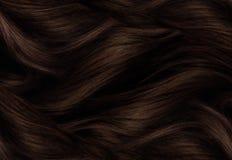 Brun hårtextur Royaltyfri Bild