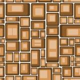 brun illustrationvektor för bakgrund Royaltyfri Foto