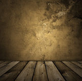 brun inre tappning Royaltyfria Bilder