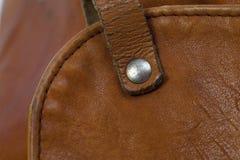 brun isoleringswhite för påse Royaltyfri Foto