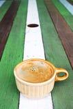 brun kaffekopp Arkivbilder