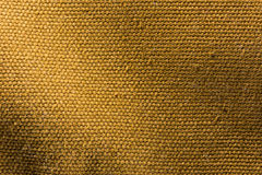 Brun kanfastexturbakgrund Arkivfoton