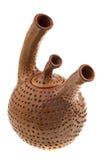 brun keramisk teapot Royaltyfria Foton