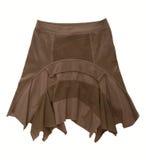 Brun kjol arkivbild