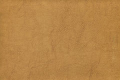 Brun kohud - läder Arkivbilder