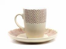 brun kopp på en platta Royaltyfria Bilder