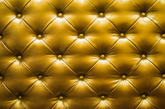 Brun läderbakgrund Royaltyfri Bild
