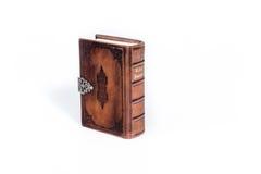 Brun läderbibel Arkivbilder