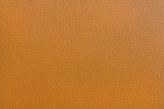 brun läderlampatextur Arkivfoton