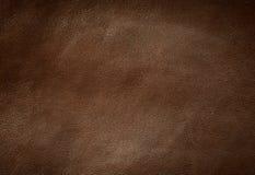 brun lädertextur Fotografering för Bildbyråer