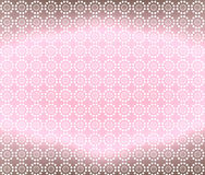 brun lampa för bakgrund - rosa wallpaper Royaltyfri Fotografi