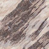 Brun marmor abstrakt bakgrund seamless fyrkantig textur Royaltyfri Bild
