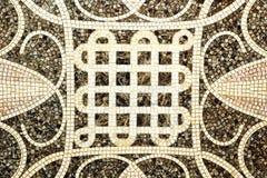Brun marmor-sten mosaiktextur Arkivfoton