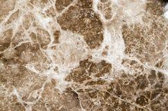 Brun marmortexturbakgrund, abstrakt naturlig textur för de Fotografering för Bildbyråer