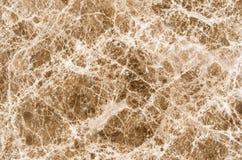 Brun marmortexturbakgrund, abstrakt naturlig textur för de Royaltyfri Fotografi